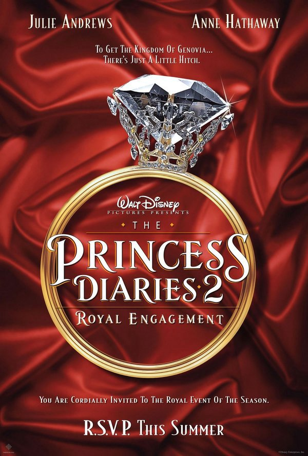 麻雀變公主2:皇家有約_The Princess Diaries 2: Royal Engagement_電影海報