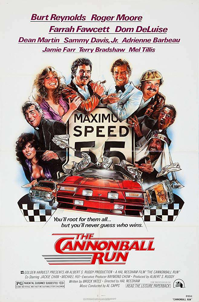 砲彈飛車_the_cannonball_run_電影海報