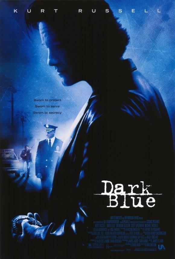 私法行動_Dark Blue_電影海報