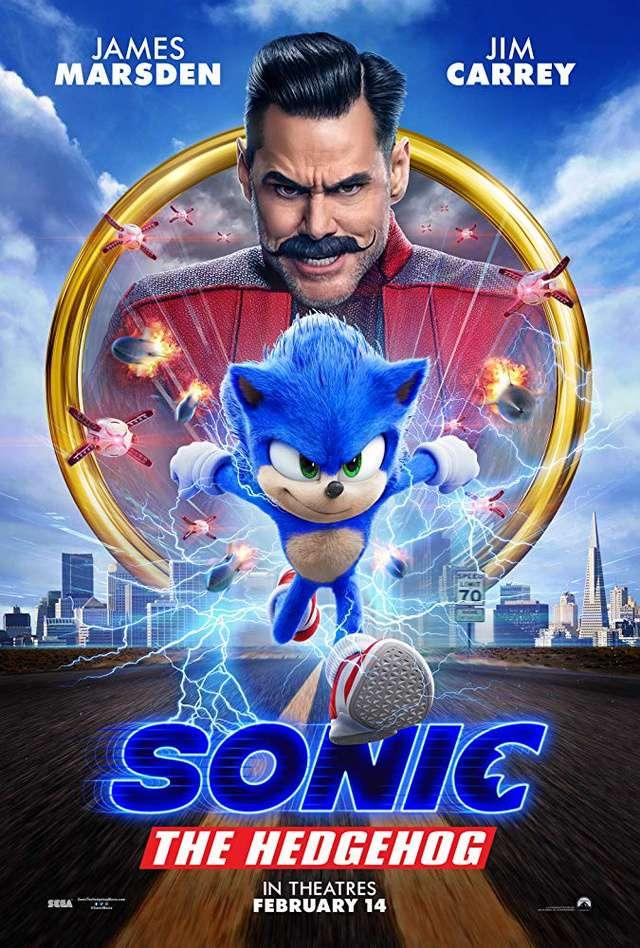 音速小子_Sonic the Hedgehog_電影海報
