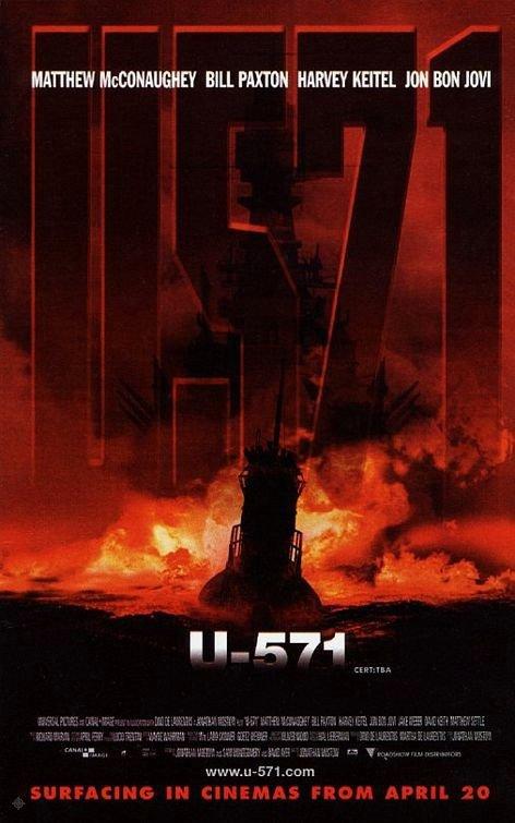 獵殺U-571_U-571_電影海報