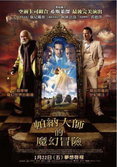 帕納大師的魔幻冒險_The Imaginarium of Doctor Parnassus_電影海報