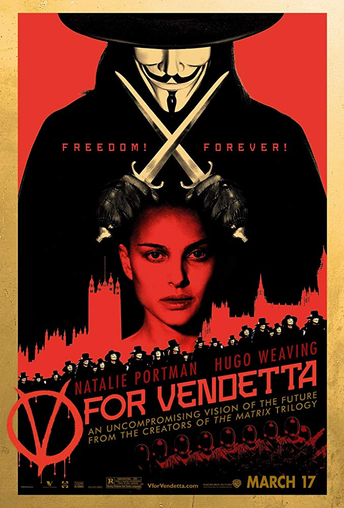 V怪客_V For Vendetta_電影海報