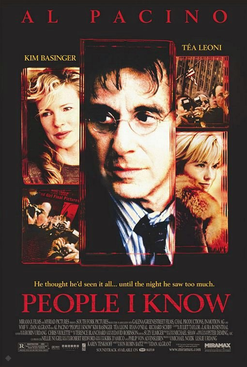 致命人脈_People I Know_電影海報