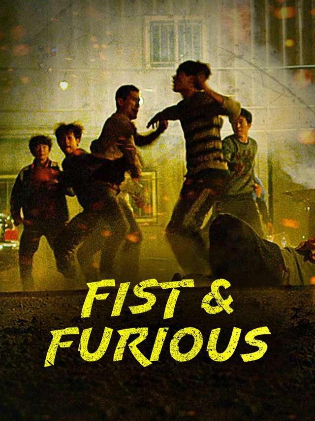 殘酷街頭:暴力實錄_Fist & Furious_電影海報
