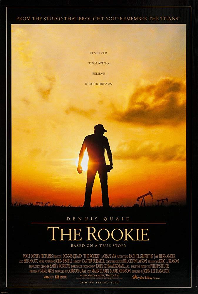 心靈投手_The Rookie (2002)_電影海報