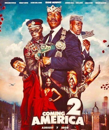 來去美國2_Coming 2 America_電影海報