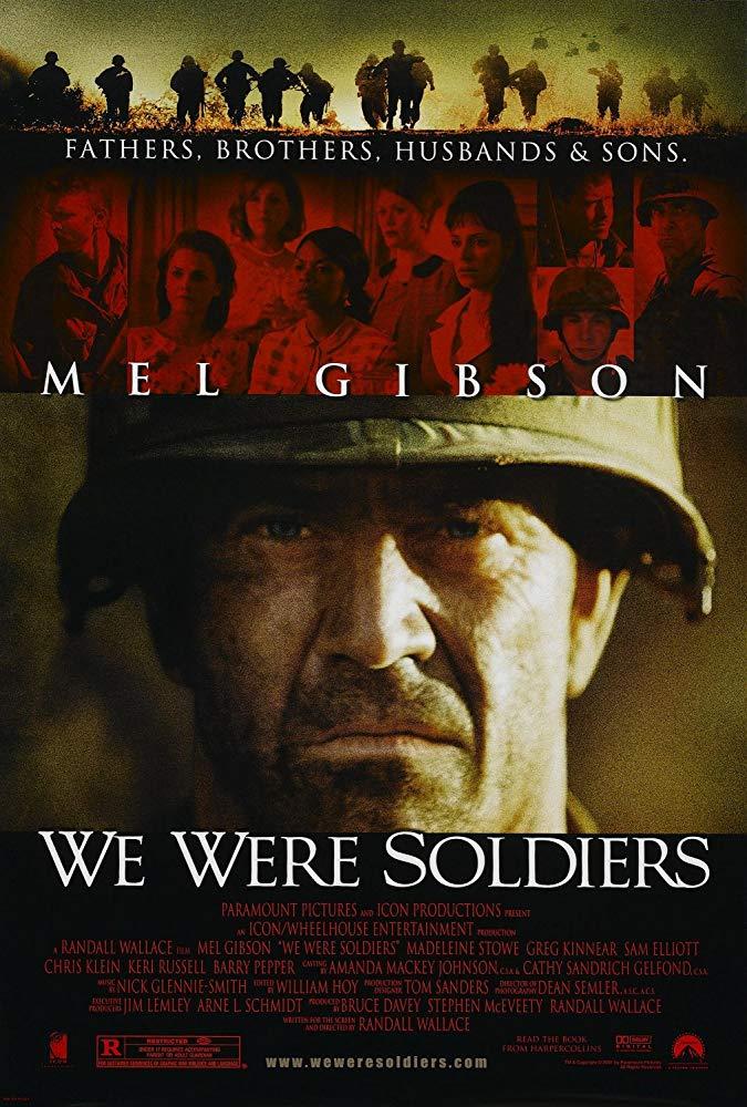 梅爾吉勃遜—勇士們_We Were Soldiers_電影海報