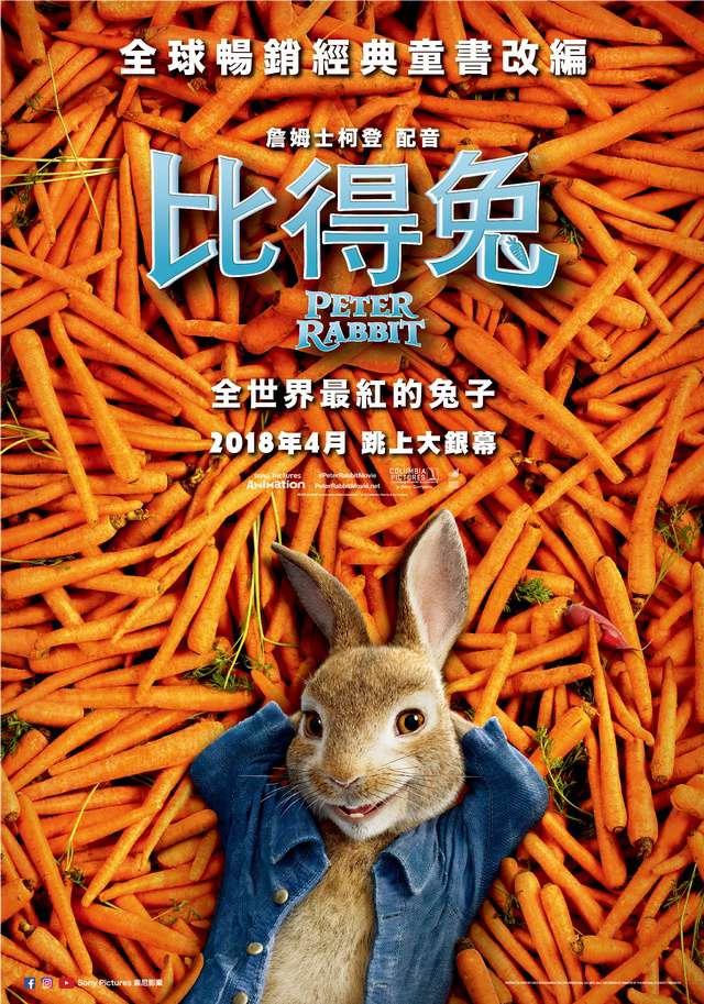 比得兔_Peter Rabbit_電影海報