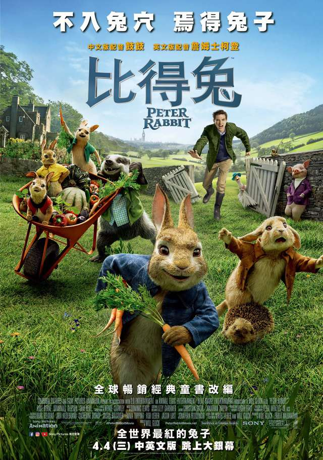 比得兔_Peter Rabbit_電影海報