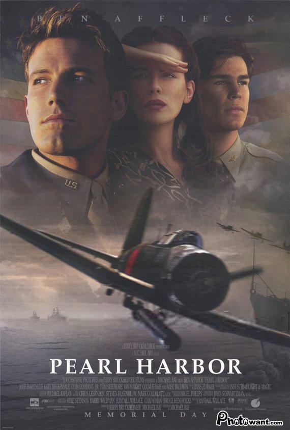 珍珠港_Pearl Harbor_電影海報
