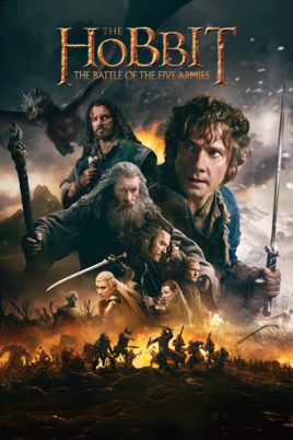 哈比人:五軍之戰_The Hobbit: The Battle of the Five Armies_電影海報