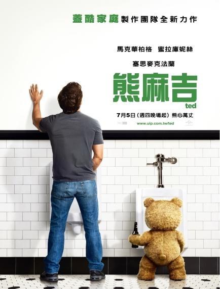 熊麻吉_Ted_電影海報