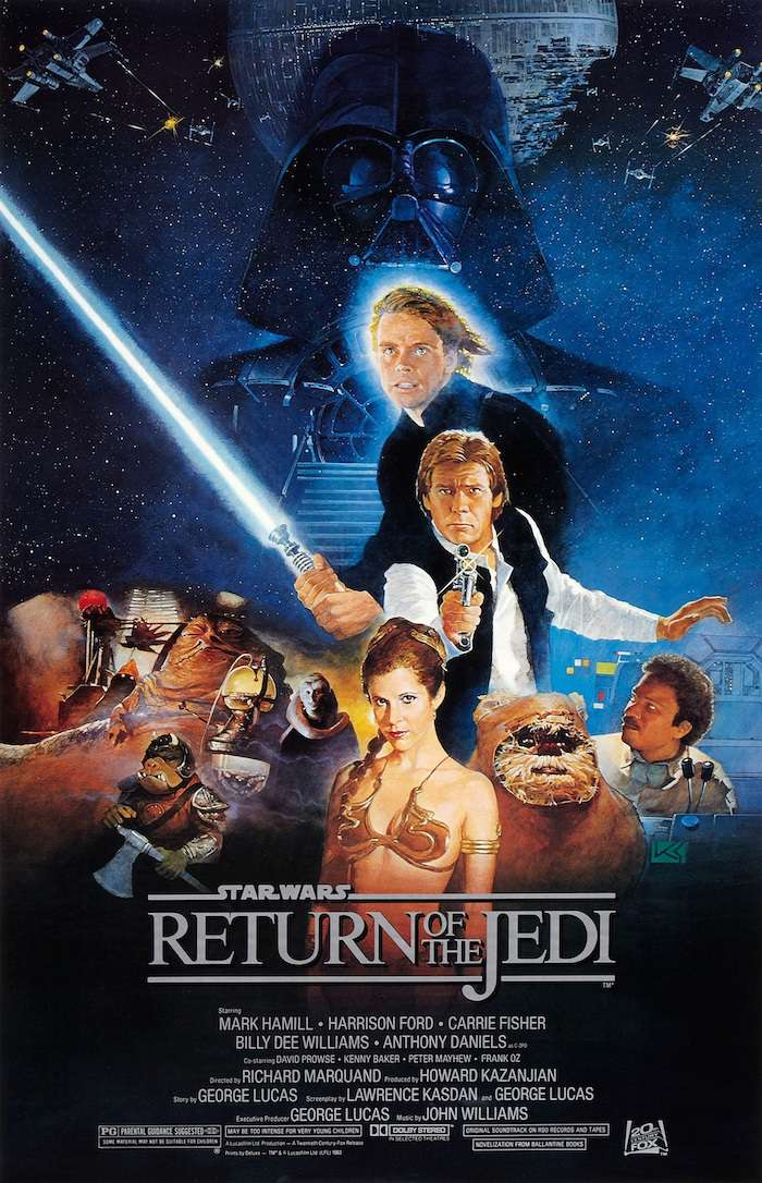 星際大戰六部曲:絕地大反攻_Star Wars Episode VI: Return of the Jedi_電影海報