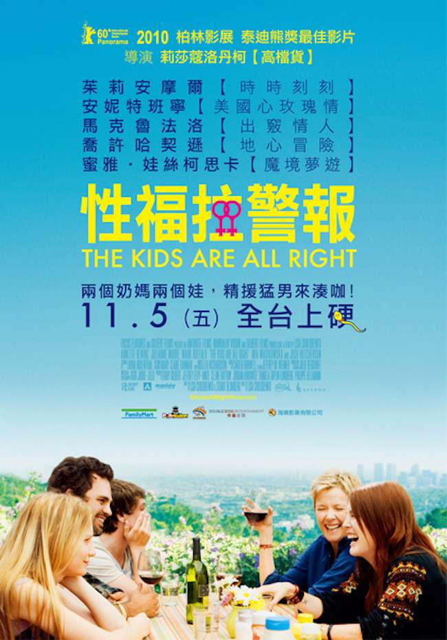 性福拉警報_The Kids Are All Right_電影海報