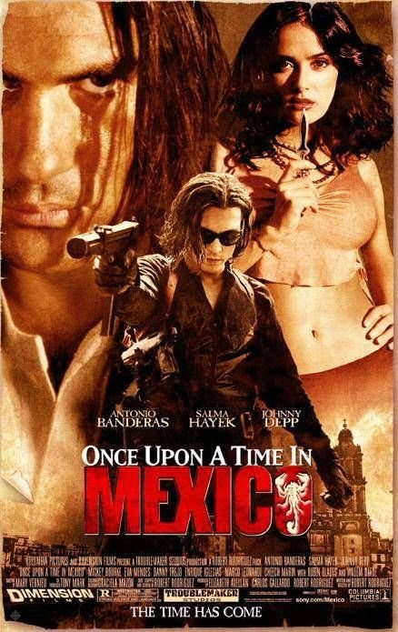 英雄不回頭_Once Upon a Time in Mexico_電影海報