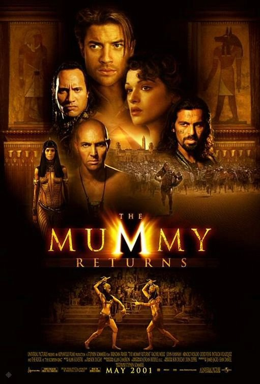 神鬼傳奇2_The Mummy Returns_電影海報