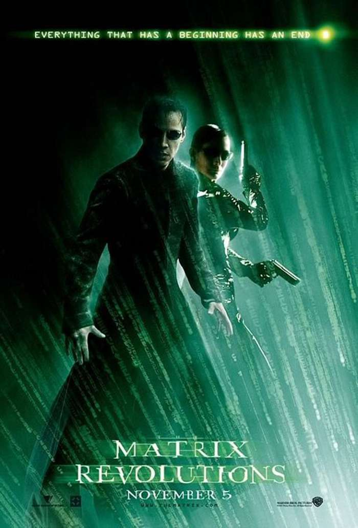 駭客任務完結篇:最後戰役_The Matrix Revolutions_電影海報