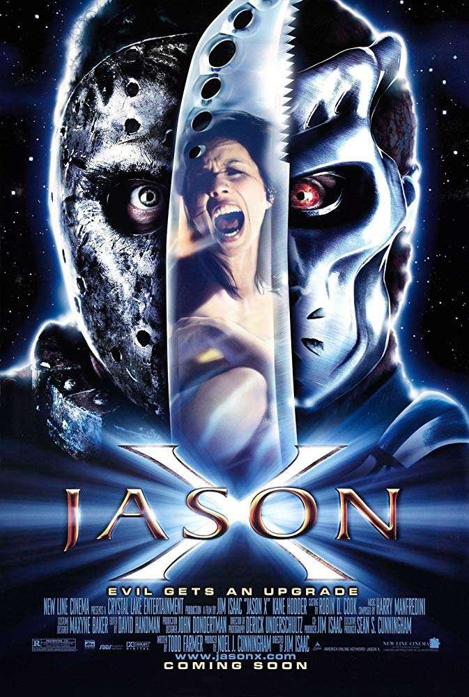星際公敵_Jason X_電影海報