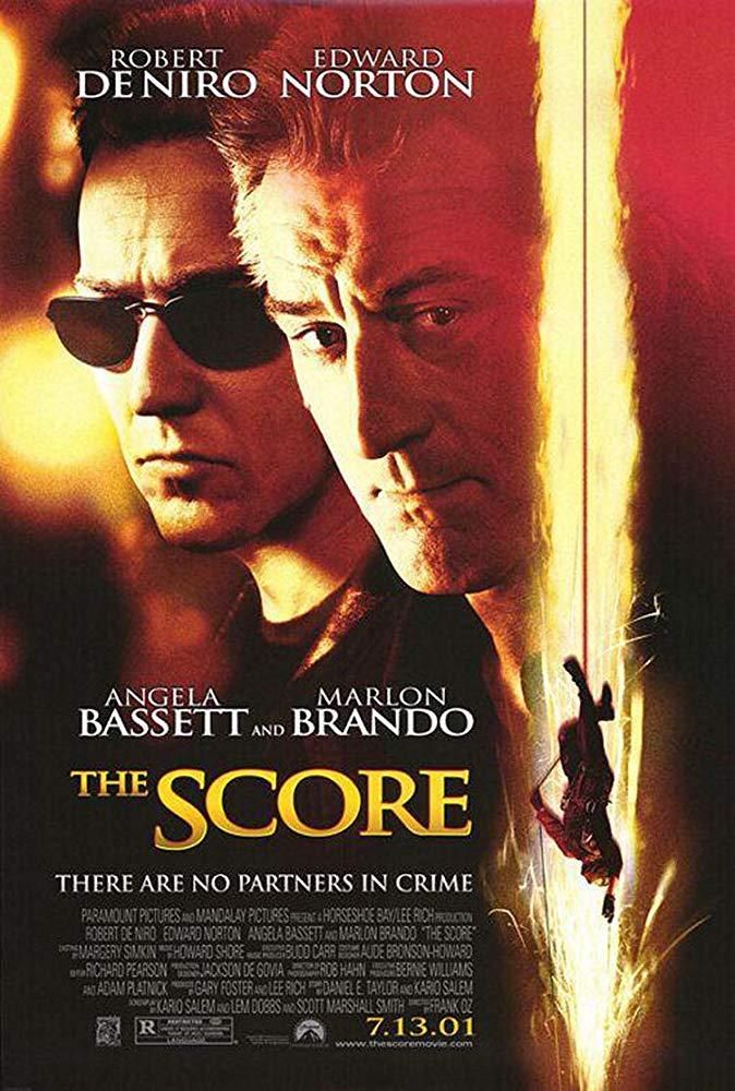 鬼計神偷_The Score_電影海報