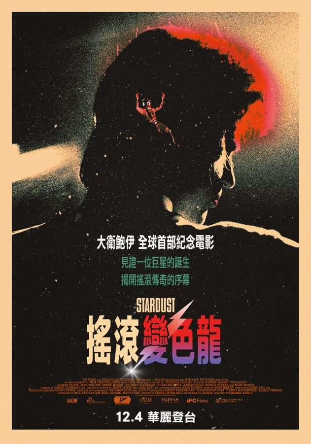 搖滾變色龍:大衛鮑伊_Stardust_電影海報
