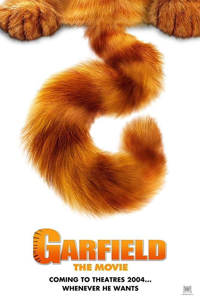加菲貓_Garfield_電影海報
