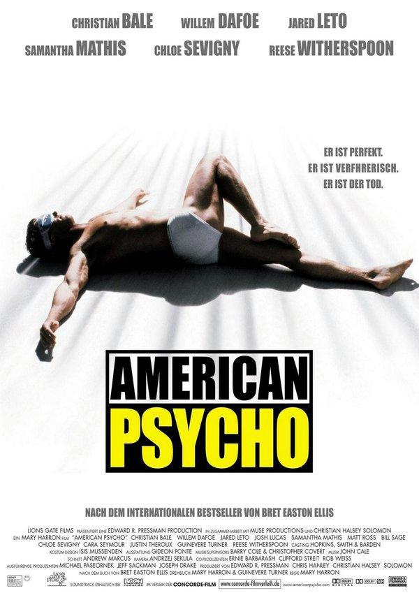 美國殺人魔_American Psycho_電影海報