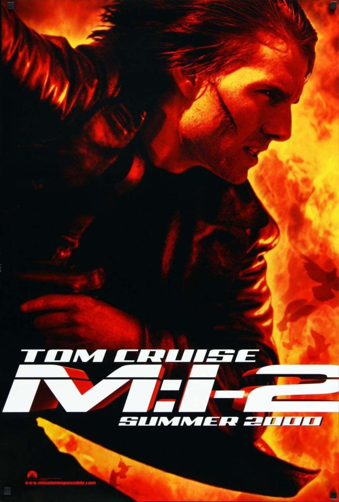 不可能的任務2_Mission: Impossible 2_電影海報