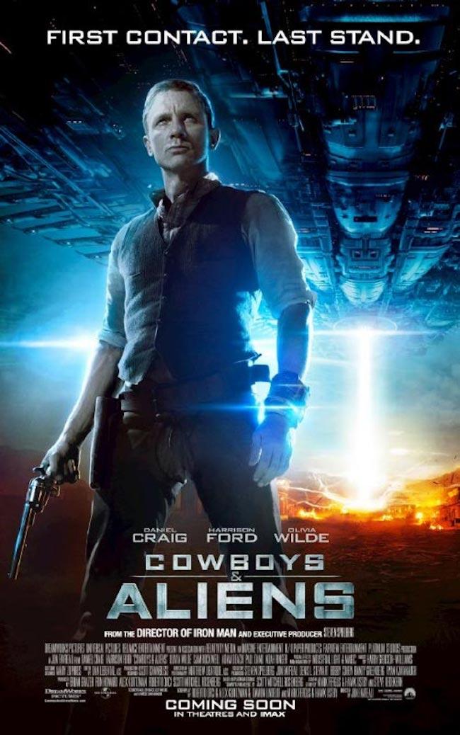 星際飆客_Cowboys & Aliens_電影海報
