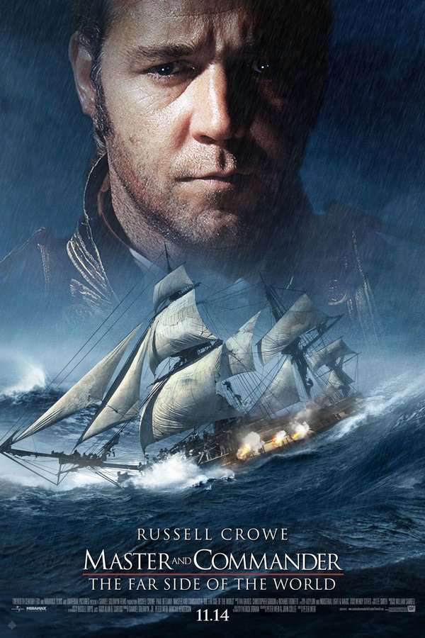 怒海爭鋒:極地征伐_Master and Commander: The Far Side of the World_電影海報