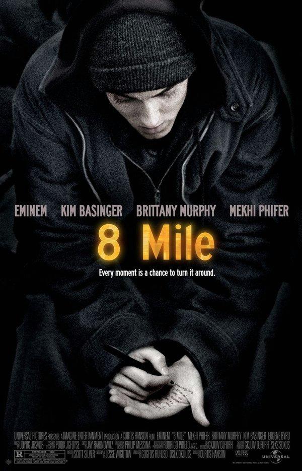 街頭痞子_8 Mile_電影海報