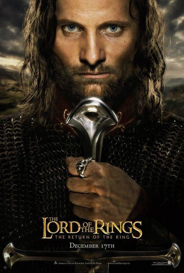 魔戒三部曲:王者再臨_The Lord of the Rings: The Return of the King_電影海報