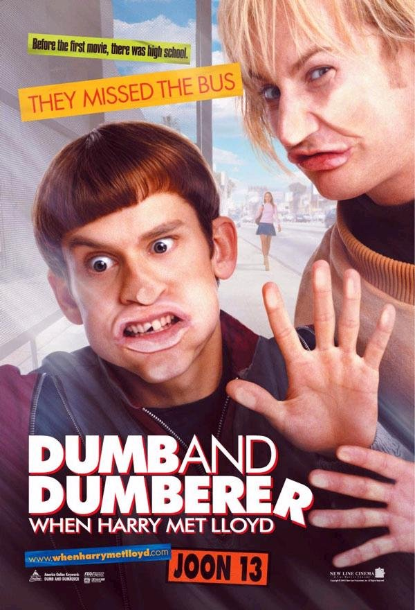 兩個頭一個大_Dumb and Dumberer: When Harry Met Lloyd_電影海報