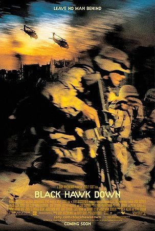 黑鷹計畫_Black Hawk Down_電影海報