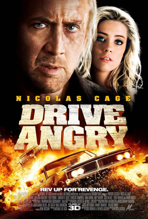 3D怒火狂飆_Drive Angry 3D_電影海報