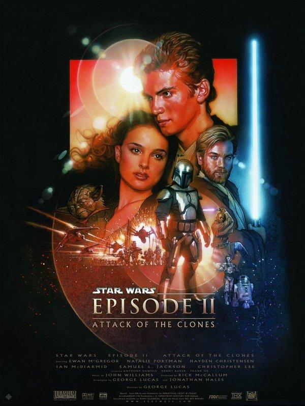 星際大戰二部曲:複製人全面進攻_Star Wars: Episode II Attack of the Clones_電影海報