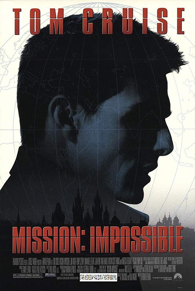 不可能的任務_Mission Impossible_電影海報