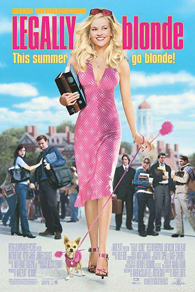金法尤物_Legally Blonde_電影海報