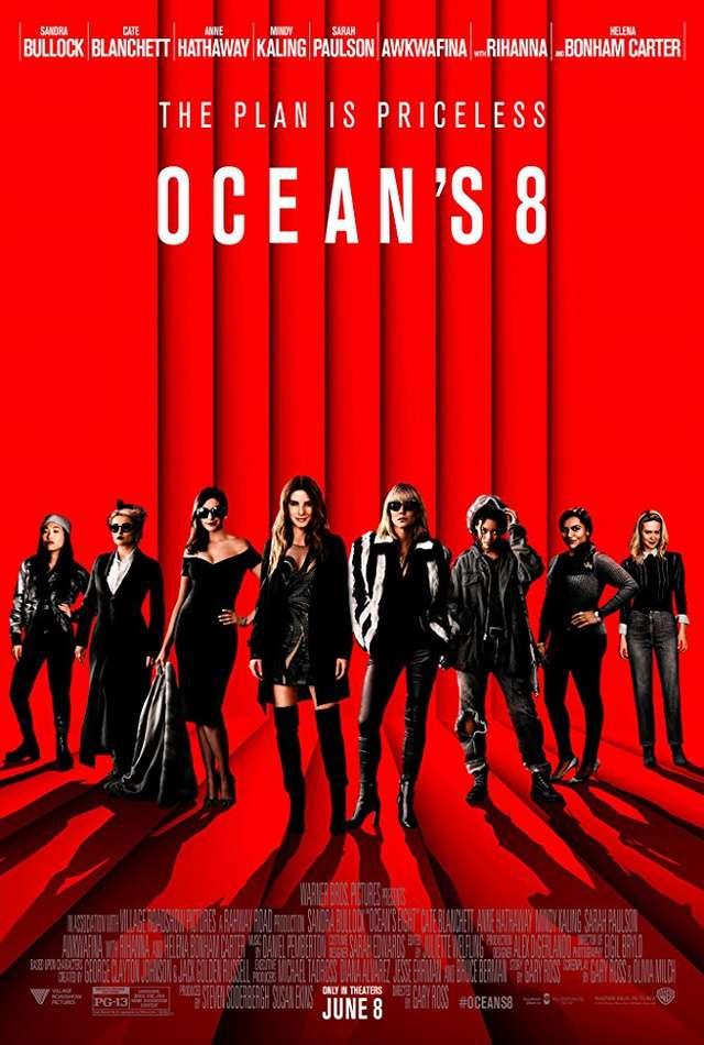 瞞天過海:八面玲瓏_Ocean's 8_電影海報