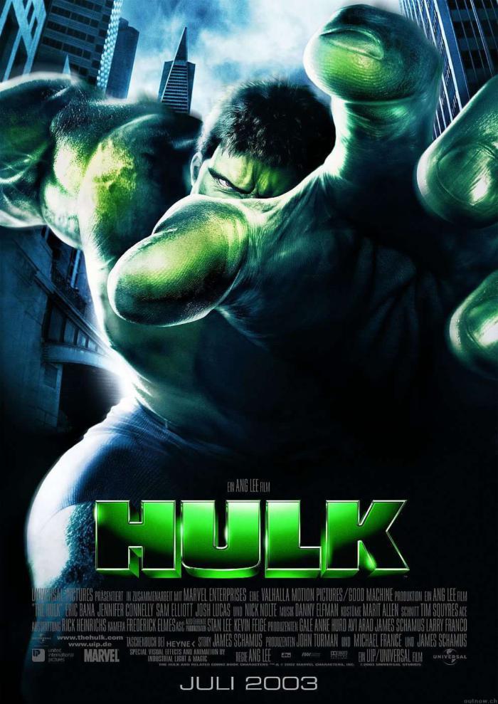 綠巨人浩克_The Hulk_電影海報