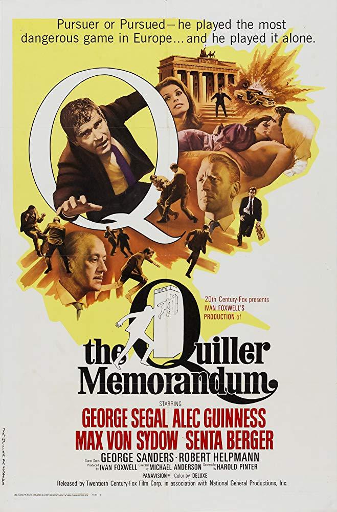 諜海群英會_The Quiller Memorandum_電影海報