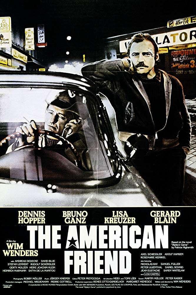 美國朋友_The American Friend_電影海報
