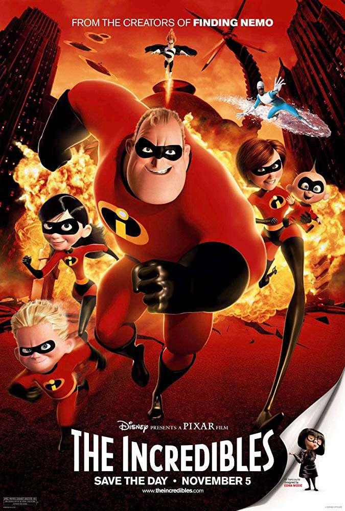 超人特攻隊_The Incredibles_電影海報