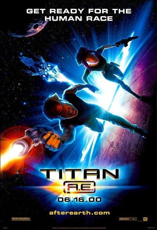 冰凍星球_Titan A.E._電影海報