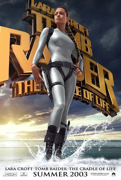 古墓奇兵:風起雲湧_Lara Croft Tomb Raider: The Cradle of Life_電影海報
