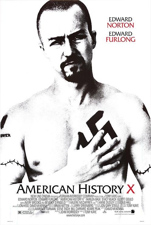 美國X檔案_American History X_電影海報
