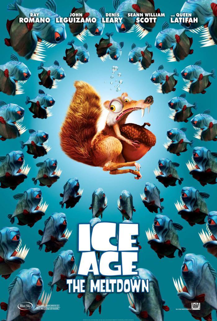 冰原歷險記2_Ice Age 2_電影海報