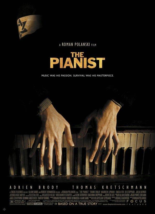 戰地琴人_The Pianist_電影海報