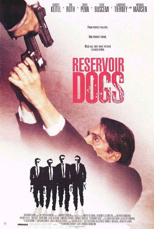 霸道橫行_Reservoir Dogs_電影海報