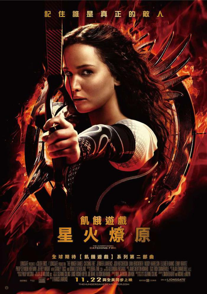 飢餓遊戲2:星火燎原_The Hunger Games: Catching Fire_電影海報